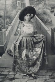 Blanca Zarazúa's mother, an immigrant to the U.S. from Jalisco, Mexico, poses for a photograph.