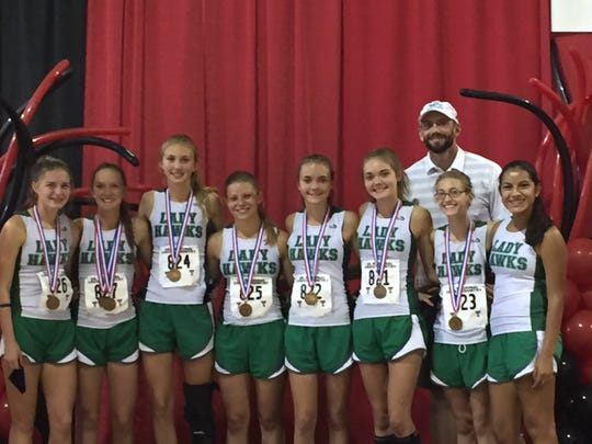 The Wall girls cross country team qualified for state last year with four freshmen on the team. This year's team has more experience as it heads into Region I-3A Cross Country Championships Monday, Oct. 22, 2018, in Lubbock.