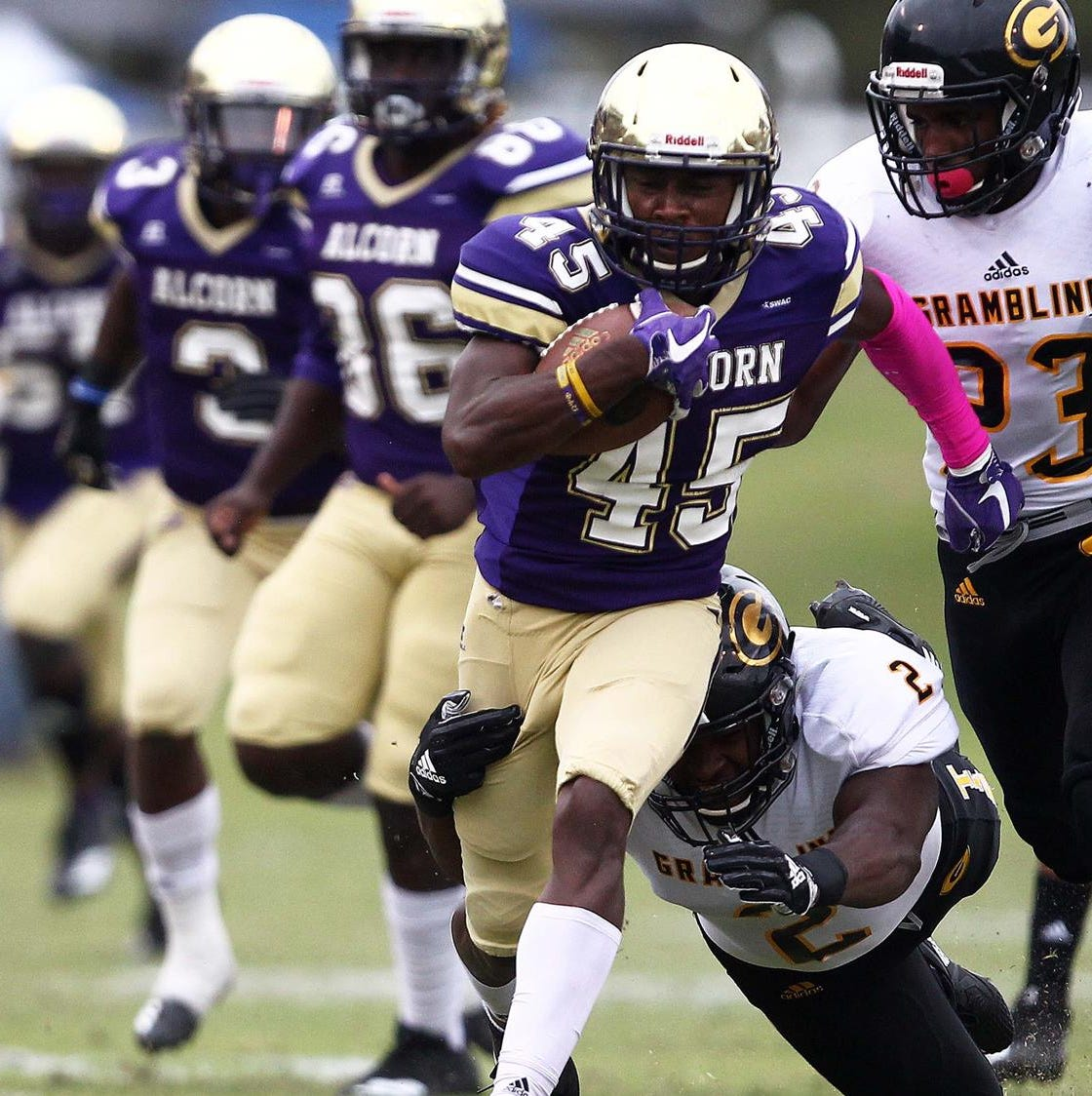 Late touchdown lifts Alcorn State over Grambling State
