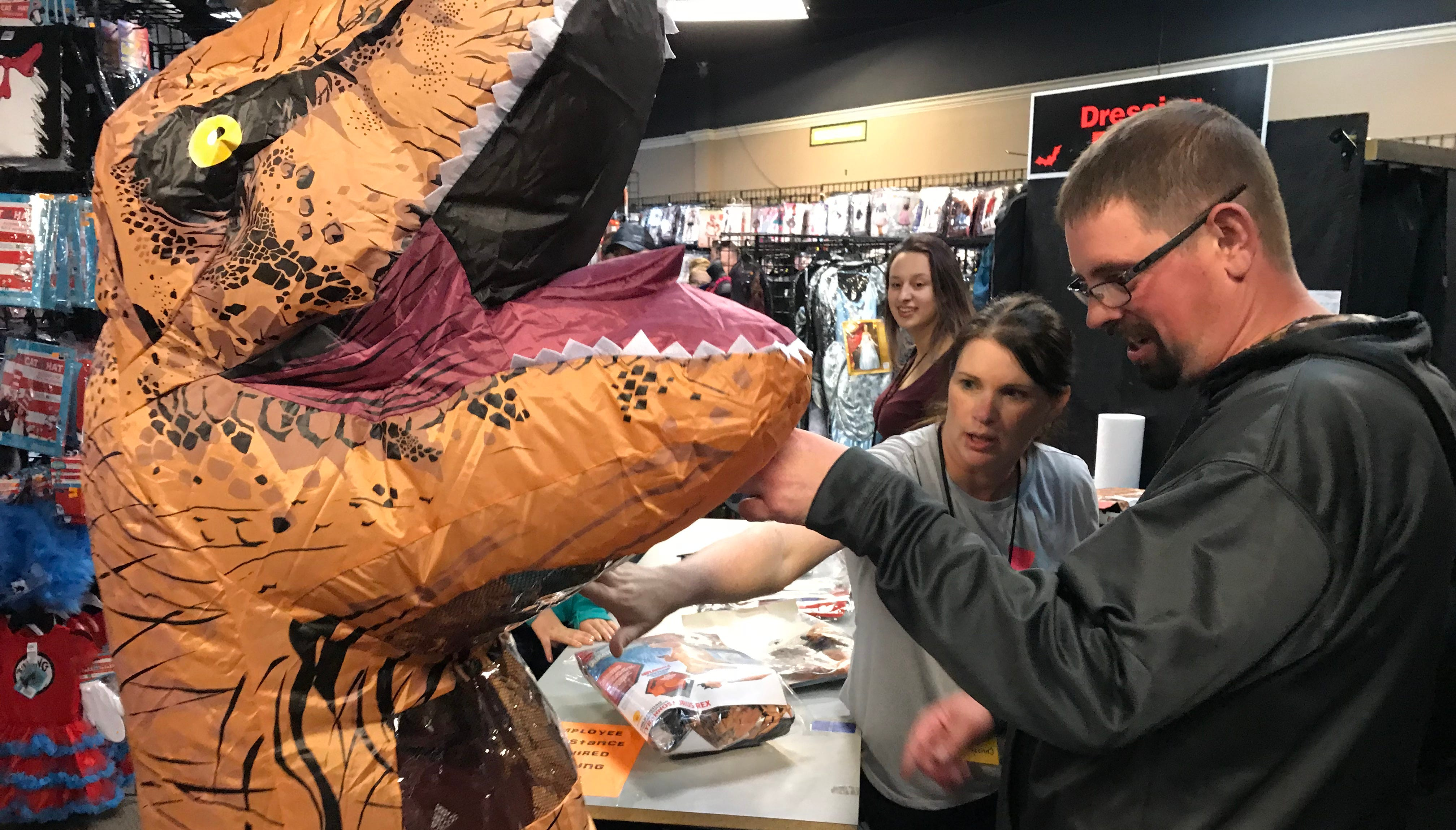 how halloween express, savers plan costume sales in sioux falls