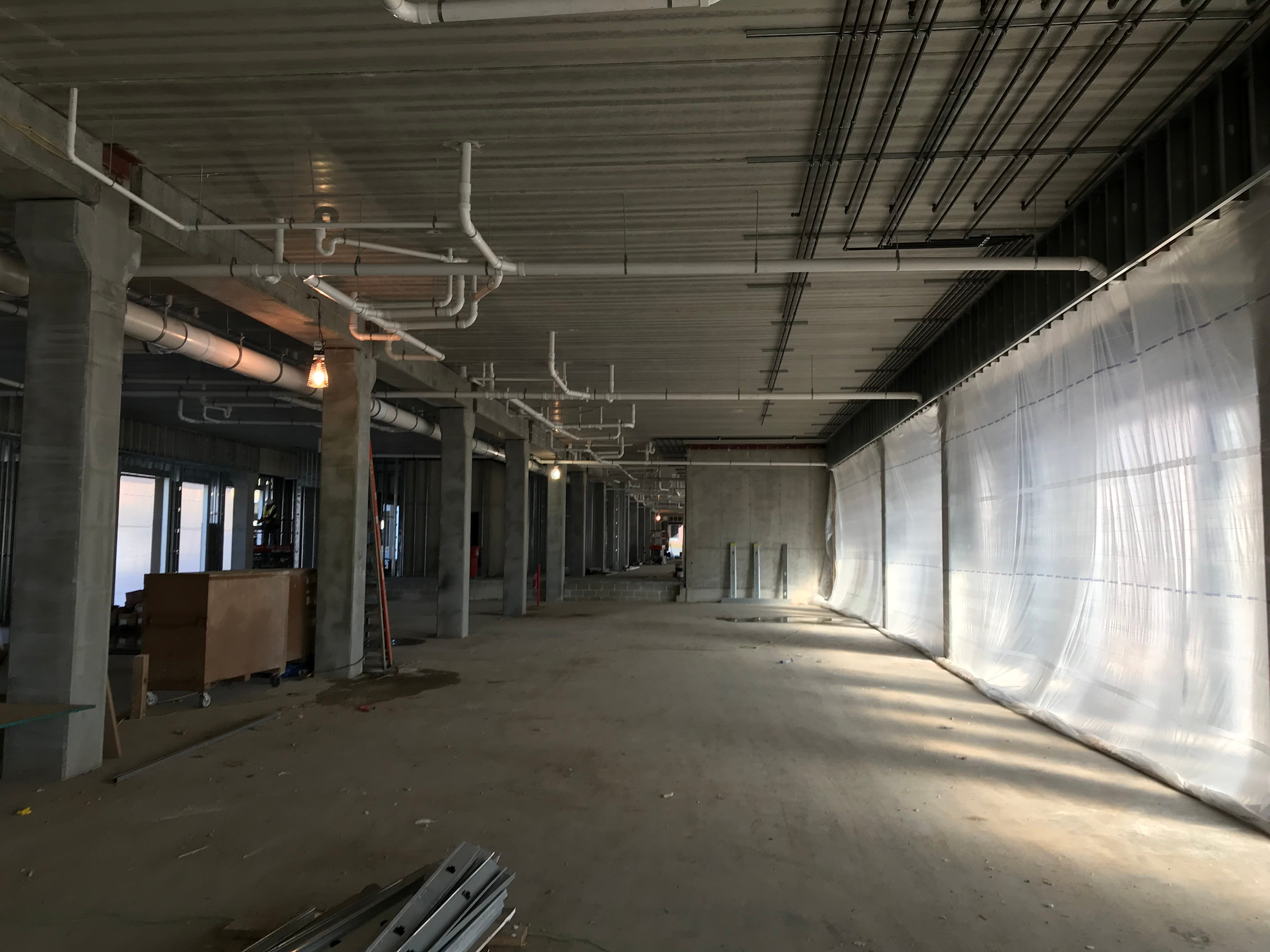 The future site of Severance Brewing on the ground floor of The Cascade at the Falls building in uptown Sioux Falls.