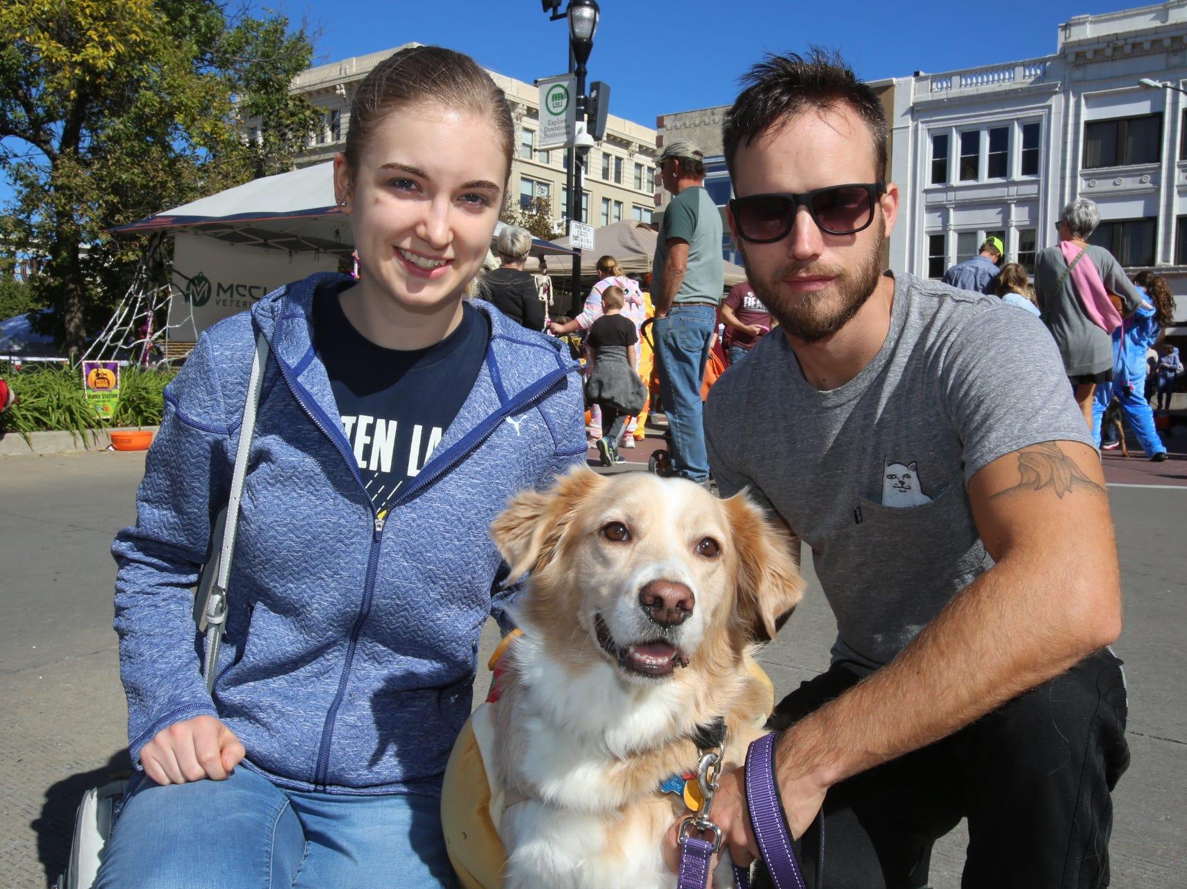 Natalie, Spencer, and Tazio