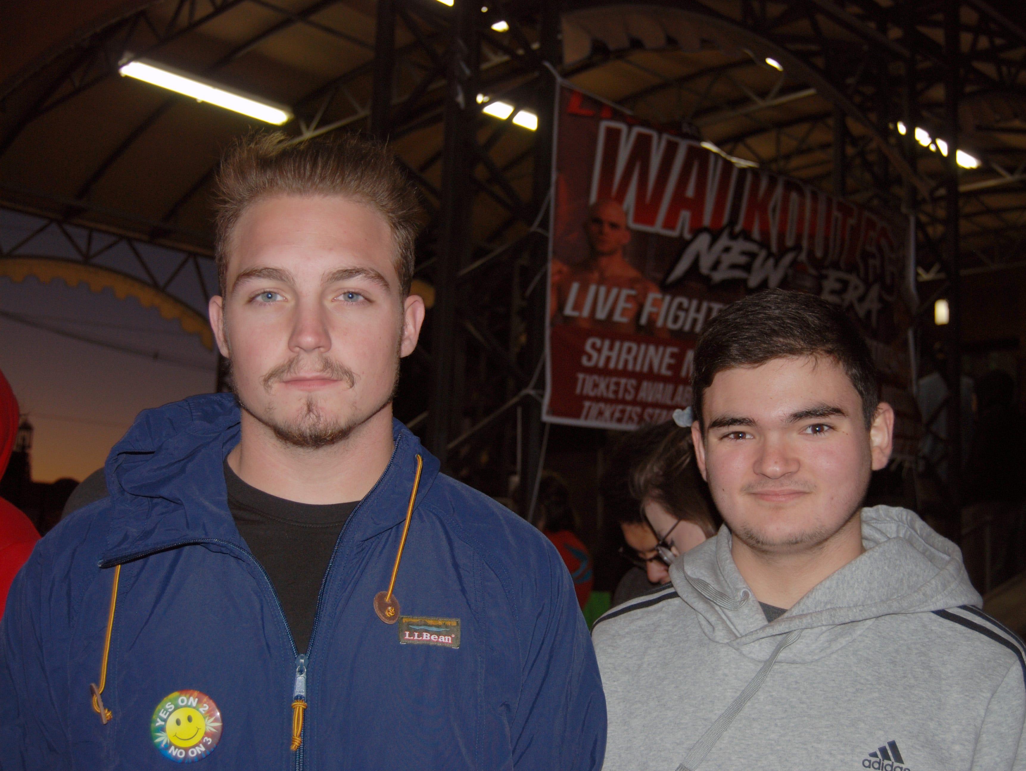 Austin Walters and Trevor Biondi