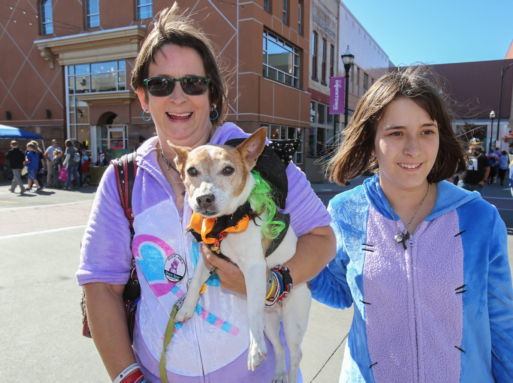Pup Pup, Amy Mattlage, and Shayla Doss