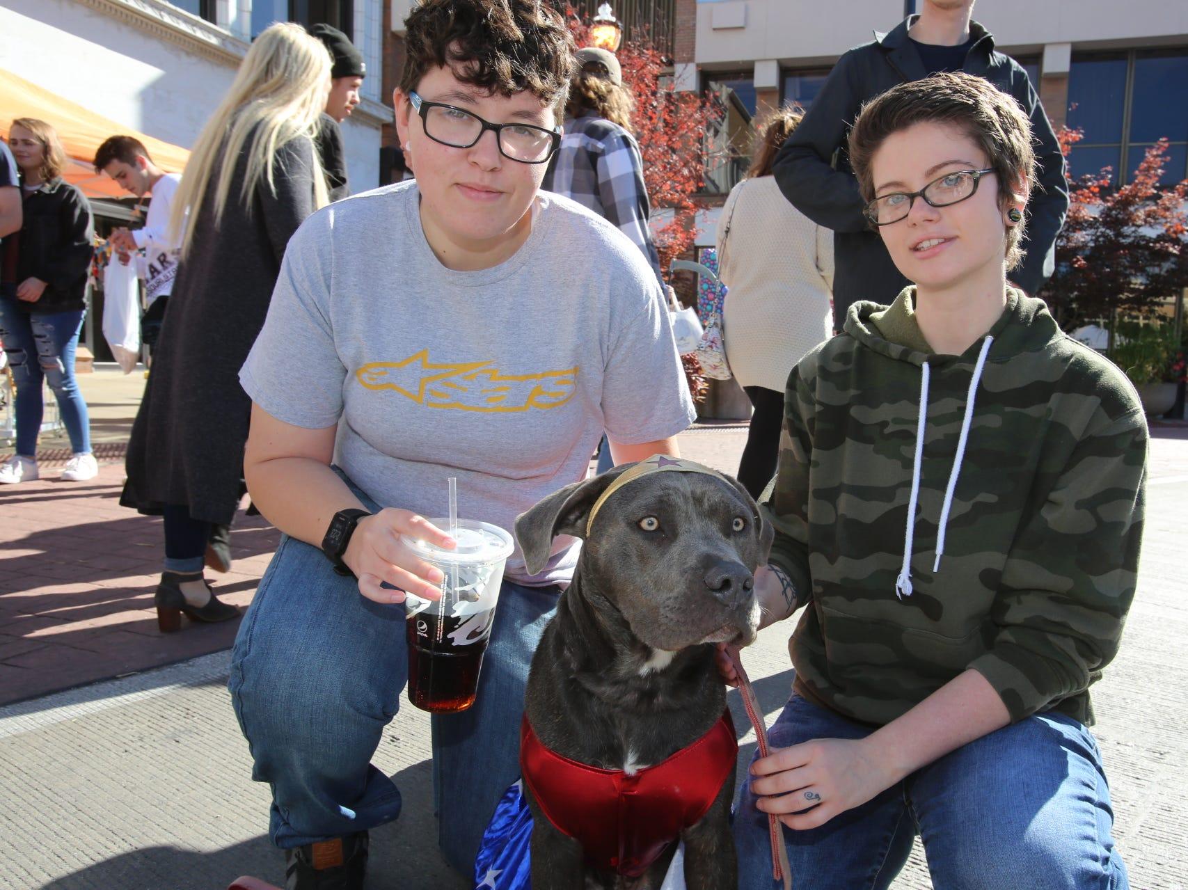 Jessie, Crystal, and Riley Rockman