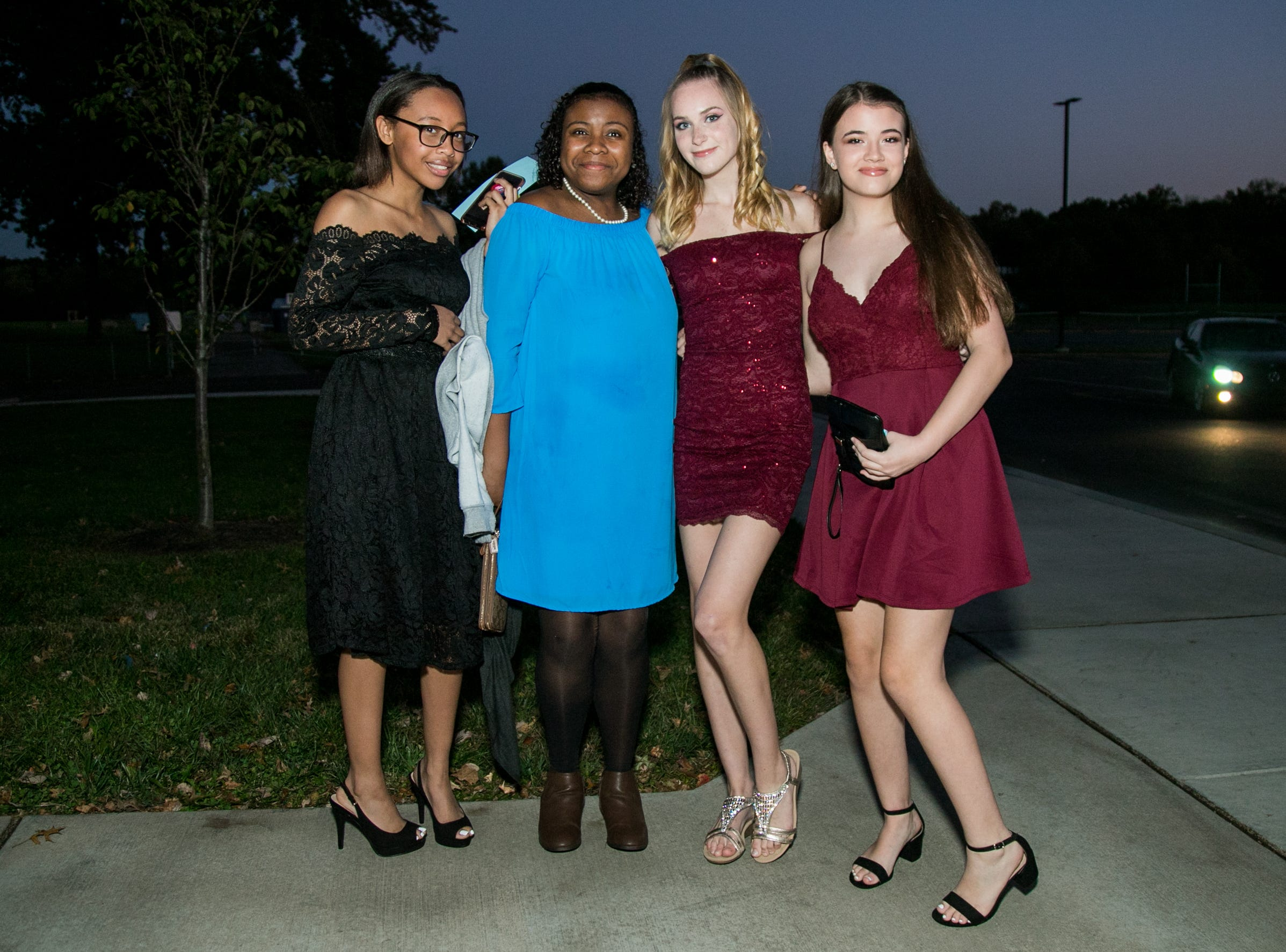 Students attend the Brandywine High School homecoming dance Saturday, Oct. 20, 2018 at the school.