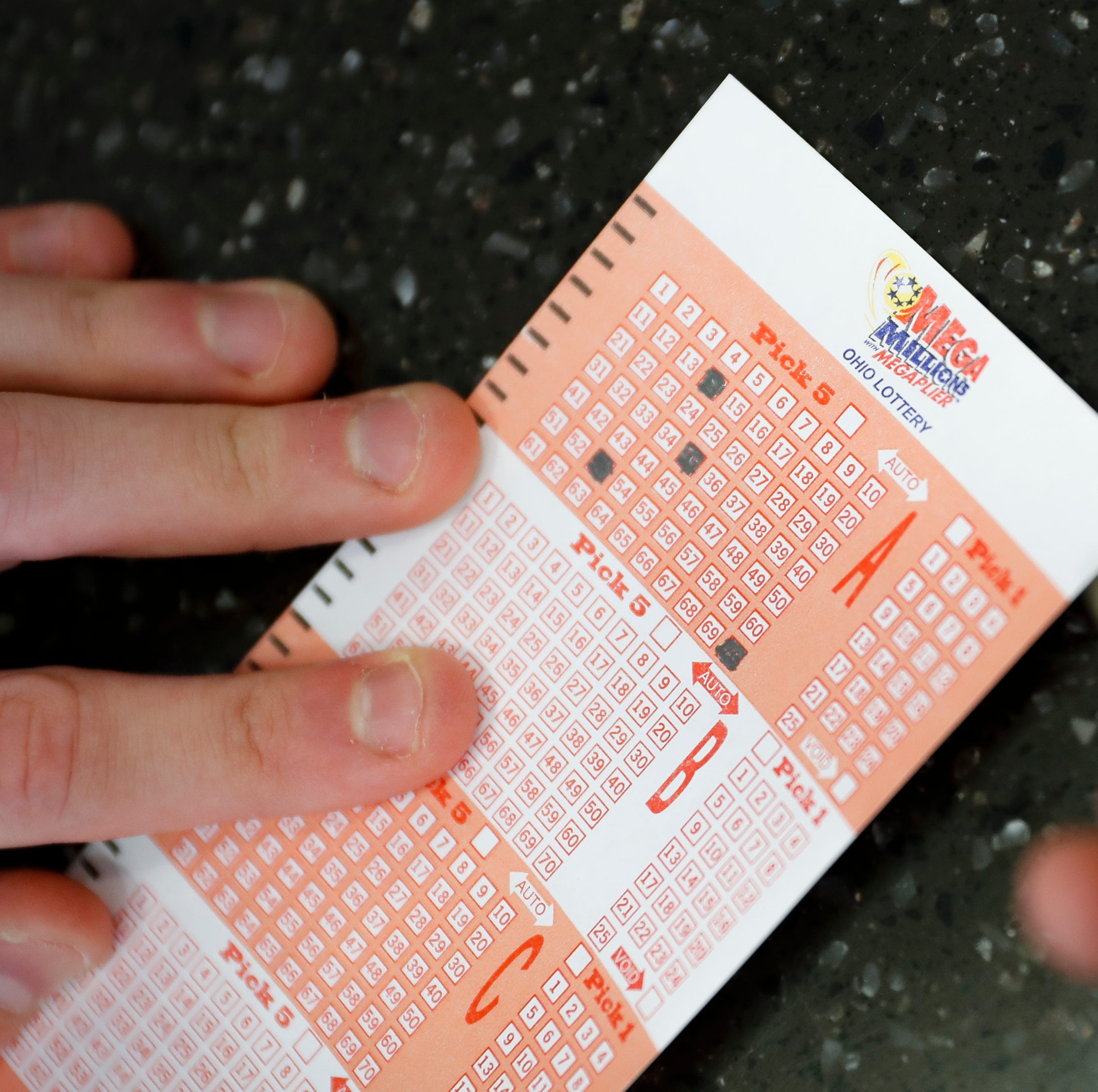 $10,000 Mega Millions ticket sold in Delaware