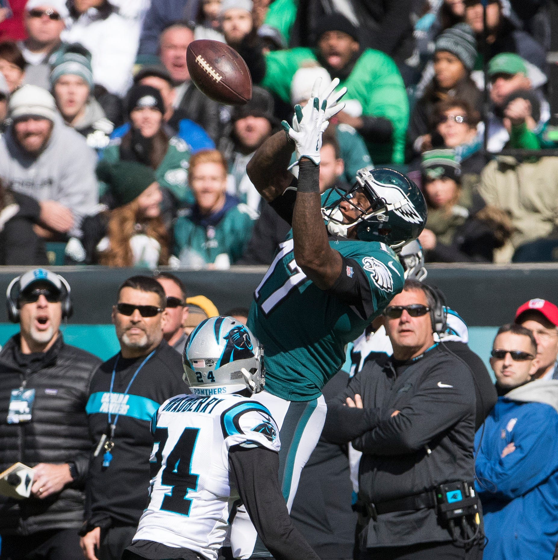 Deja vu: Eagles blow a big lead, lose to Panthers as drive comes up short at the end