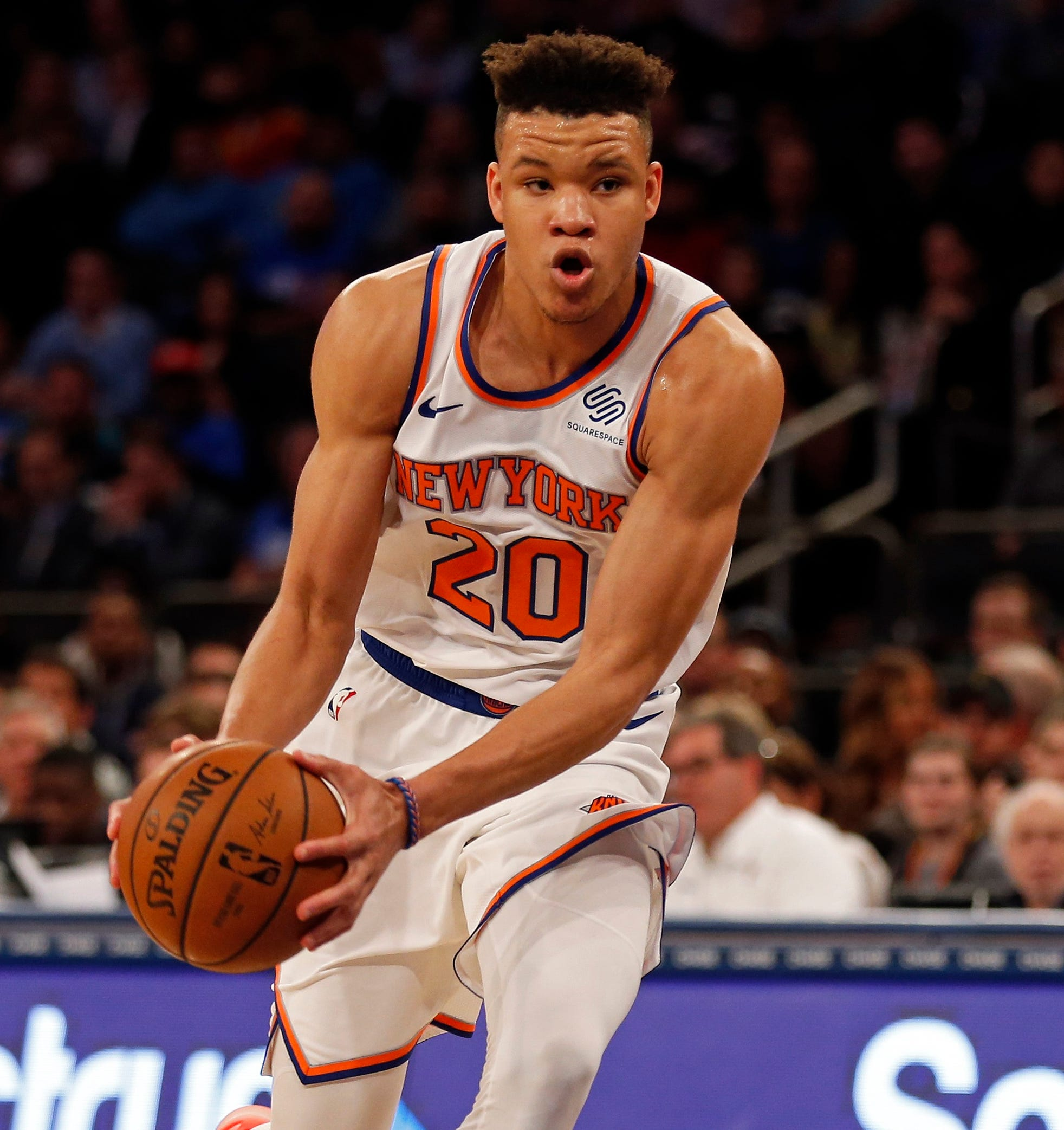 Kevin Knox was the ninth pick in June's draft.