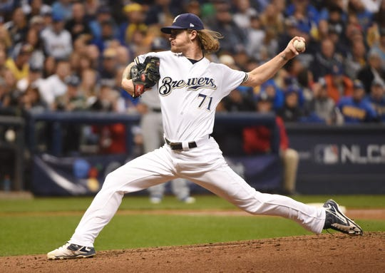Milwaukee Brewers left-hander Josh Hader is only 24.