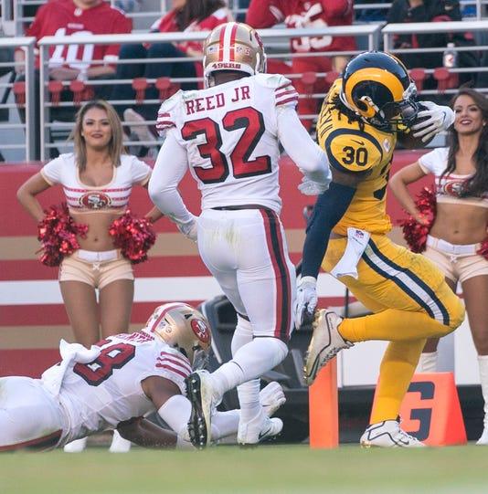 Nfl Los Angeles Rams At San Francisco 49ers
