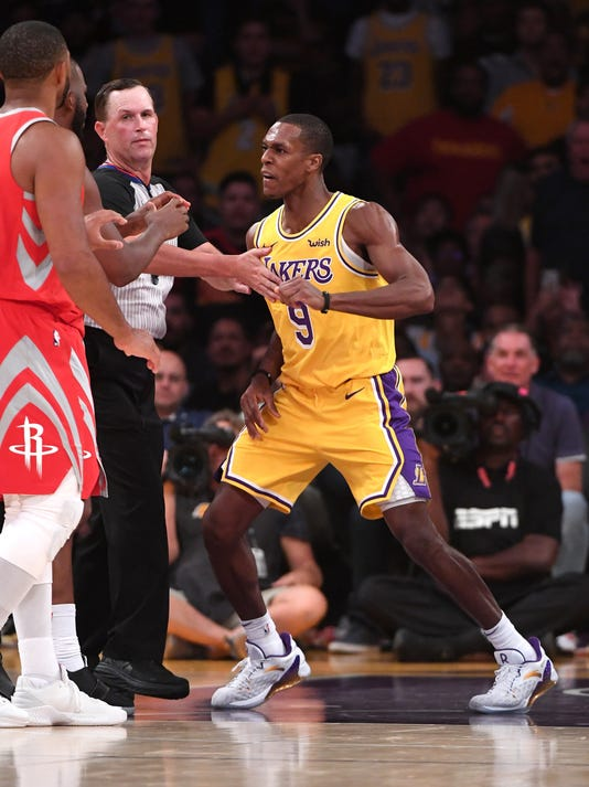 Usp Nba Houston Rockets At Los Angeles Lakers S Bkn Lal Hou Usa Ca