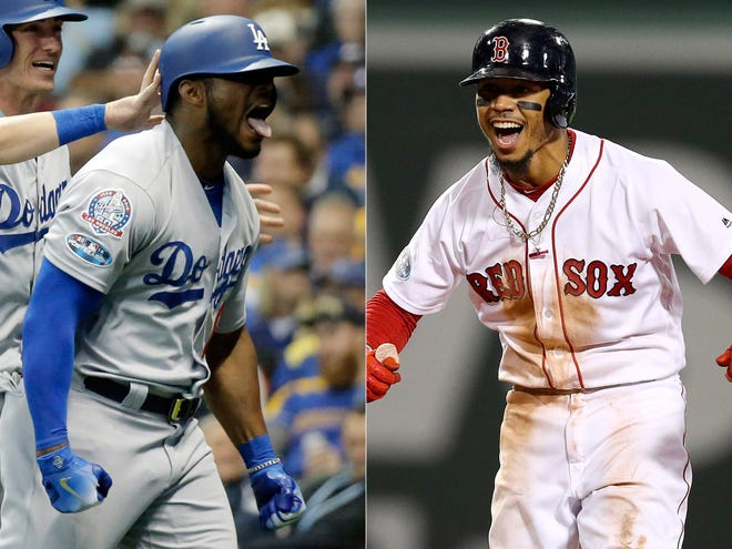 The Dodgers and Red Sox square off in the World Series.