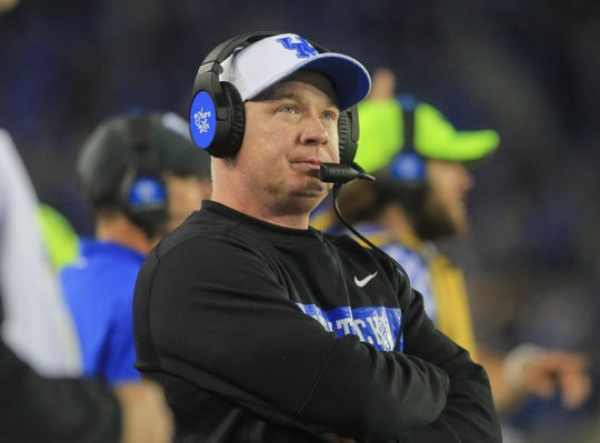 Kentucky Wildcats head coach Mark Stoops.