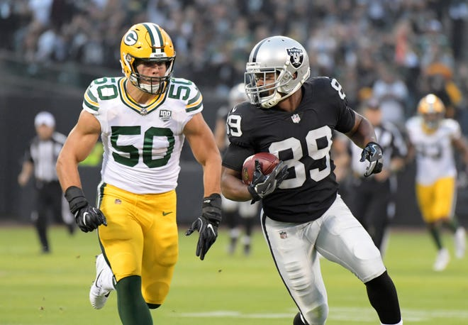 Raiders wide receiver Amari Cooper was a Pro Bowler his first two seasons in the NFL, but has had back-to-back disappointing seasons since then.
