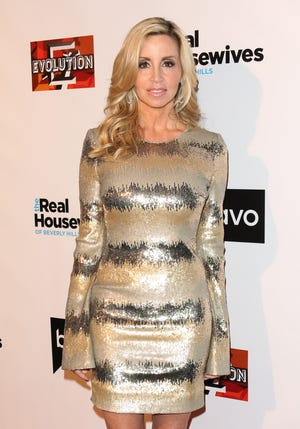 """""""The Real Housewives of Beverly Hills"""" reality star Camille Grammer is married! She tied the knot with boyfriend David C. Meyer in Hawaii on Saturday."""