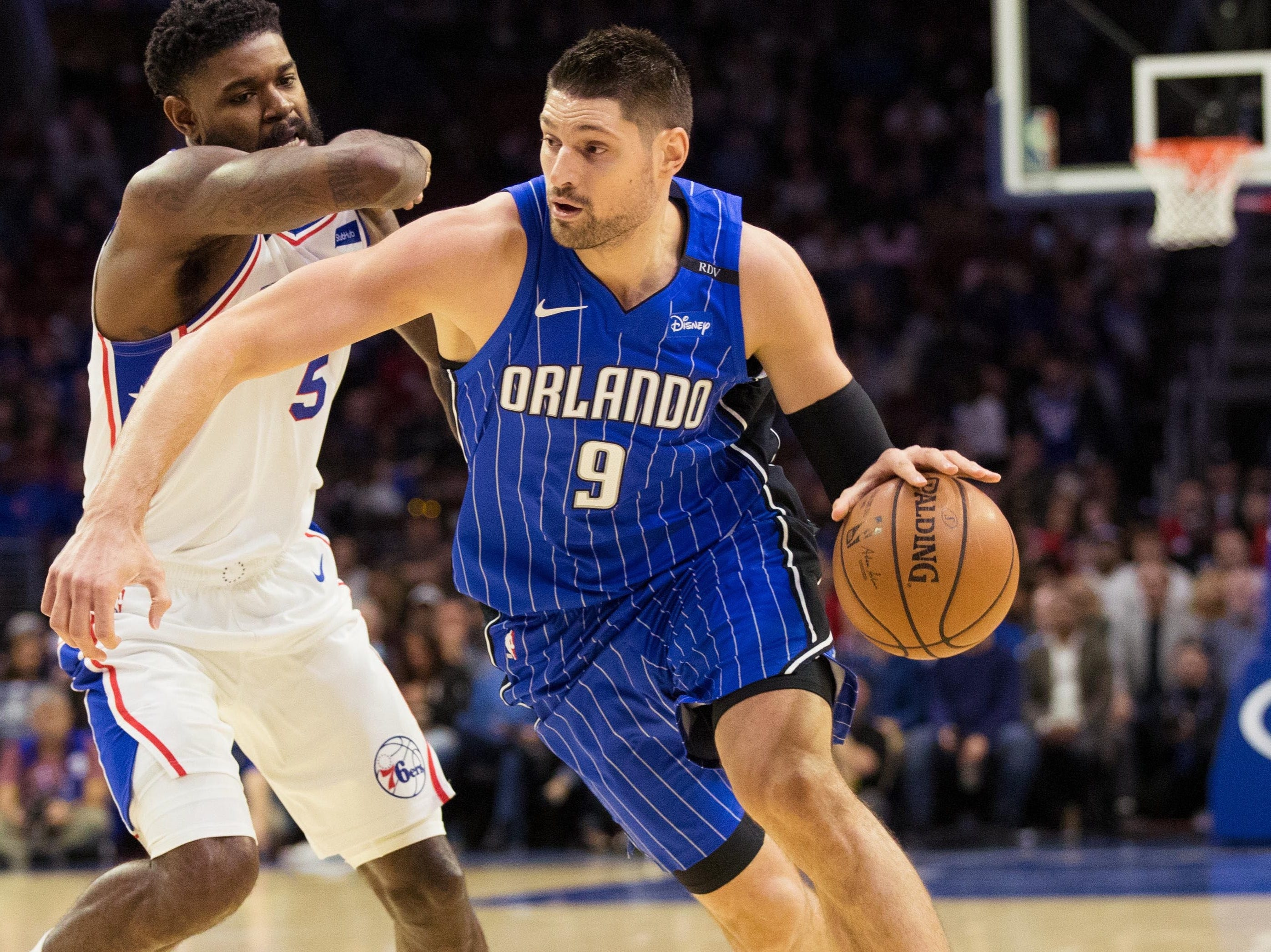 3. Nikola Vucevic, Magic (Oct. 20): 27 points, 13 rebounds, 12 assists in 116-115 loss to 76ers.