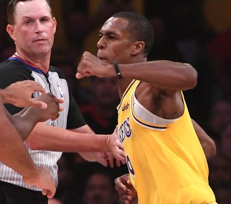 Usp Nba Houston Rockets At Los Angeles Lakers S Bkn Lal Hou Usa Ca