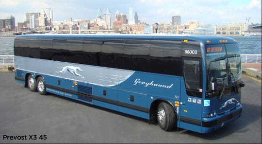 A girl on a Greyhound bus returning to her home in Los Angeles on Memorial Day, May 27, 2019, was able to reach a family member, who notified authorities she was being sexually harassed by a man who later was identified as an ex-con.