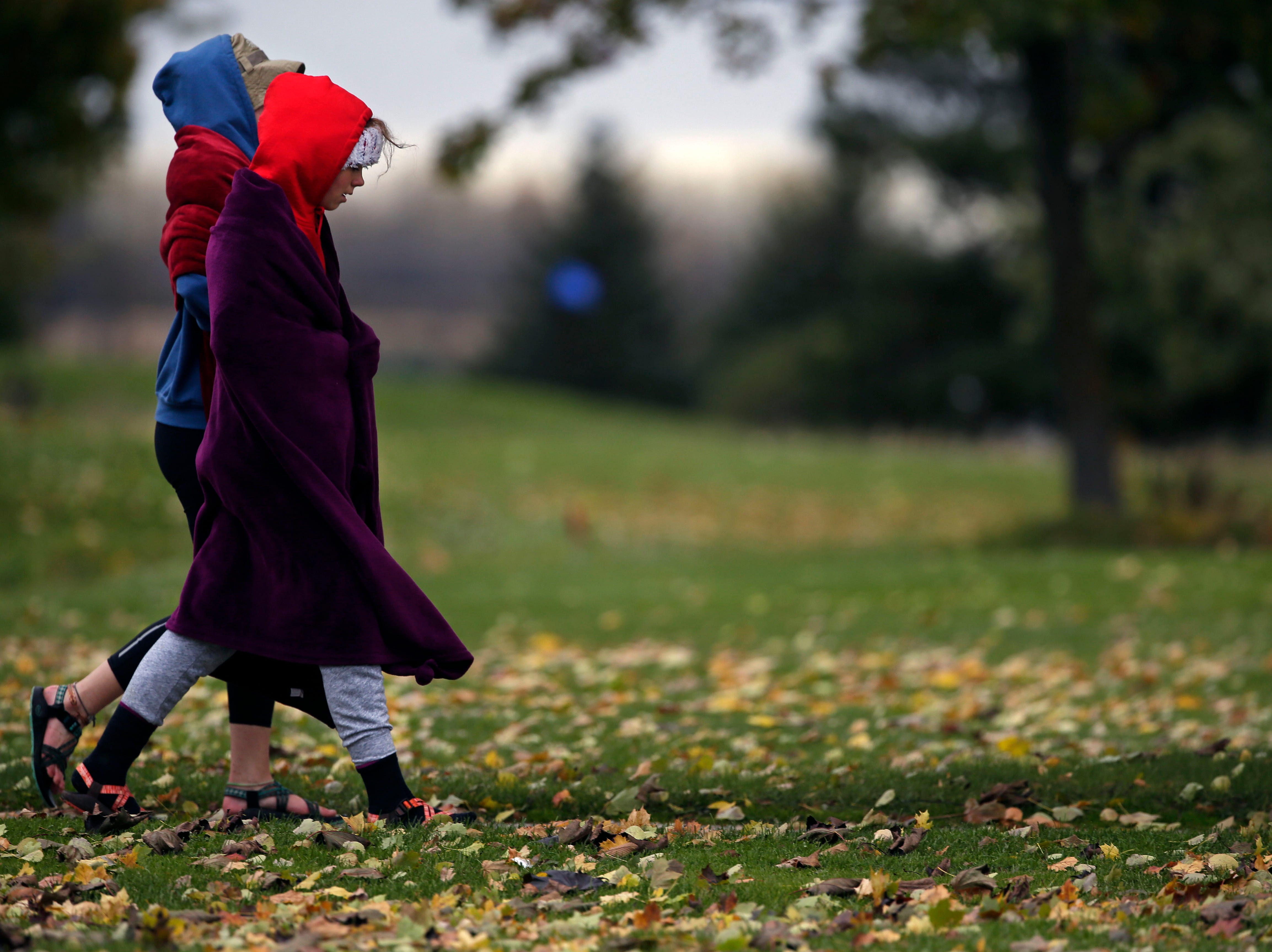 There was time to walk the course before the WIAA Division 2 Freedom cross country sectional Saturday, October 20, 2018, at Irish Waters Golf Course in Freedom, Wis.