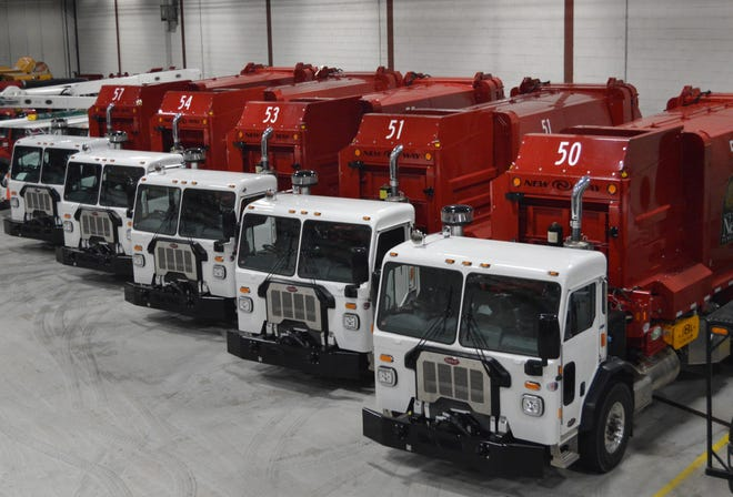 The 2019 Neenah budget contains $2.3 million to pay for the trucks and equipment necessary for the city's switch to an automated curbside collection of refuse and recyclables.