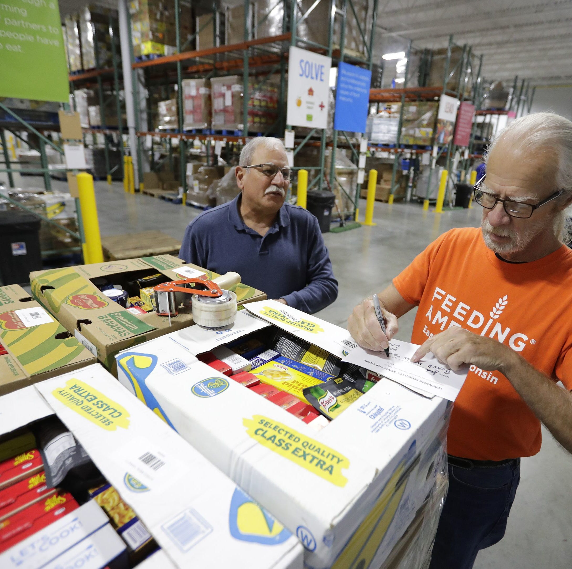 One way to fight hunger? Turn food waste into stocked food pantries. | Stock the Shelves