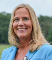 Tracie Yostpille is running for a four-year term as mayor of Jackson Township on a slate with council candidates Brandon Rose and Paul Sarti.