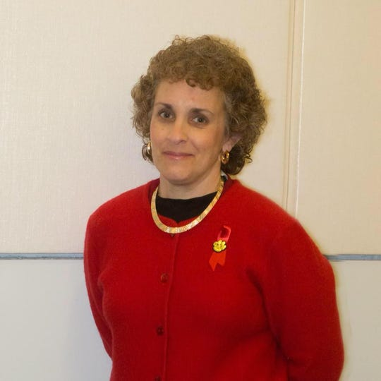 Regina Discenza is seeking a three-year term on the Lacey Township school board.