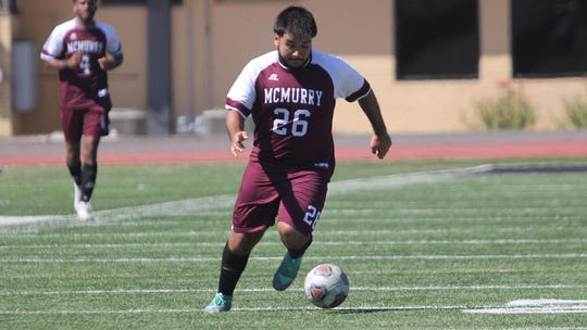 Rafael Lara was one of two War Hawks to score in the second half against Mary Hardin-Baylor helping the War Hawks earned a tie on the road Saturday in Belton.