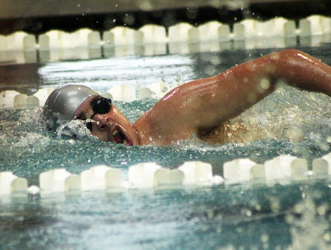 Dany Baki won first place in the 1,000-yard freestyle race Friday in Abilene.
