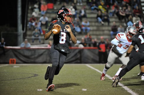 Pisgah's Korey Griffith (8)