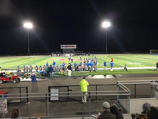 Owego Free Academy's varsity football team defeated Norwich 24-13 on Oct. 19 in Owego.