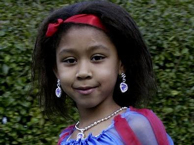 2003: Quinlana Blackman, 6 as Snow White during Thomas Jefferson Elementary 42nd annual Halloween parade, Friday.