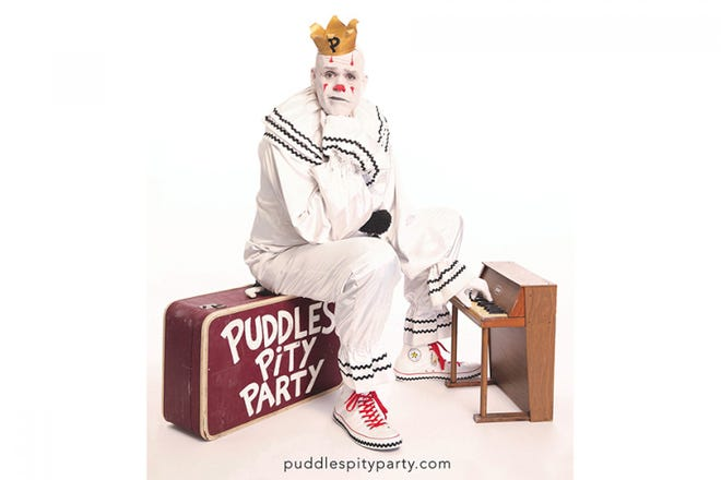 Puddles Pity Party makes a return stop Oct. 26 at the Admiral Theatre.