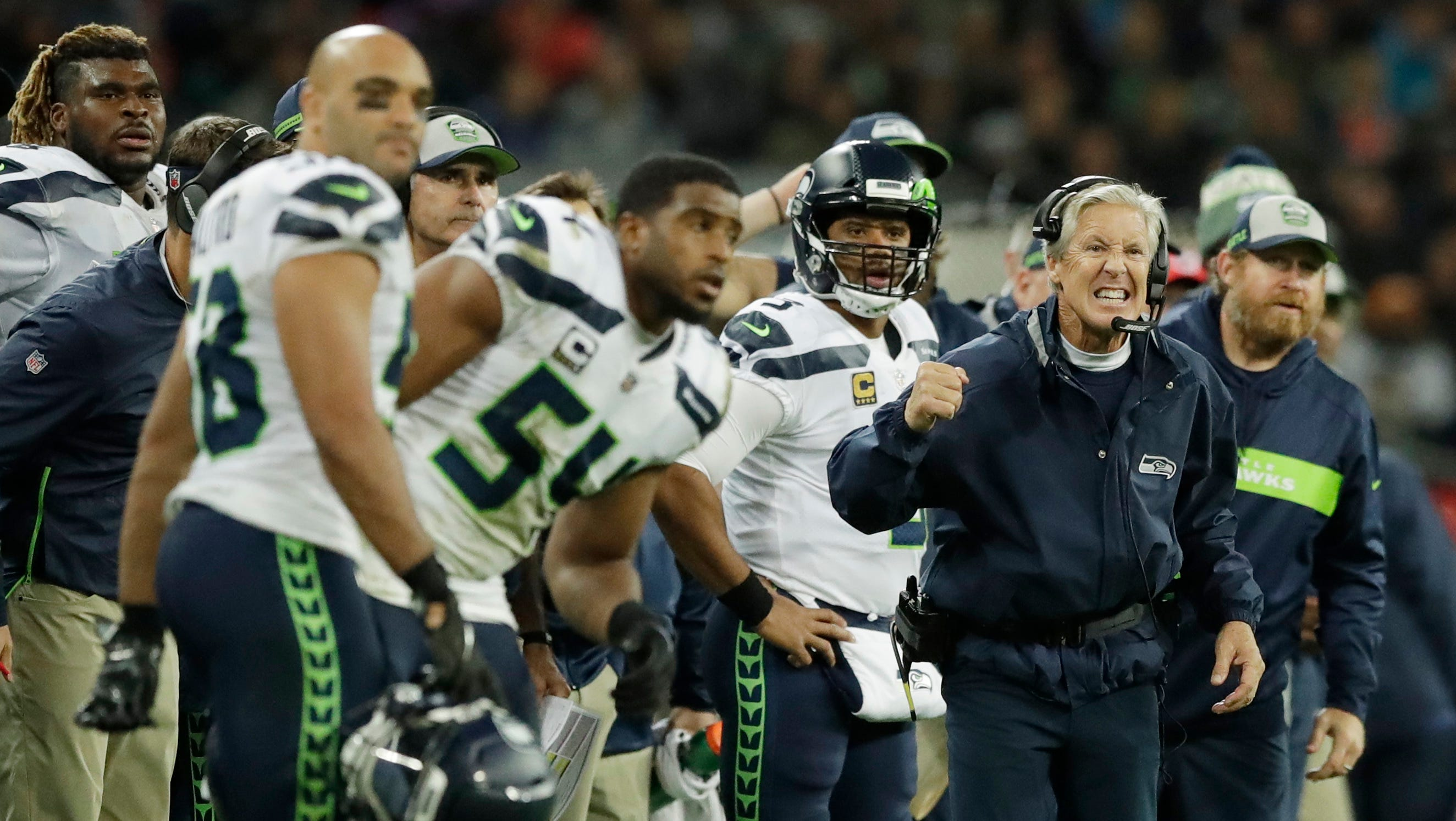 Coach Pete Carroll's Seahawks probably need 10 wins to be certain of making the playoffs. Given how the rest of the schedule shakes out, that makes Sunday's game in Detroit critical.