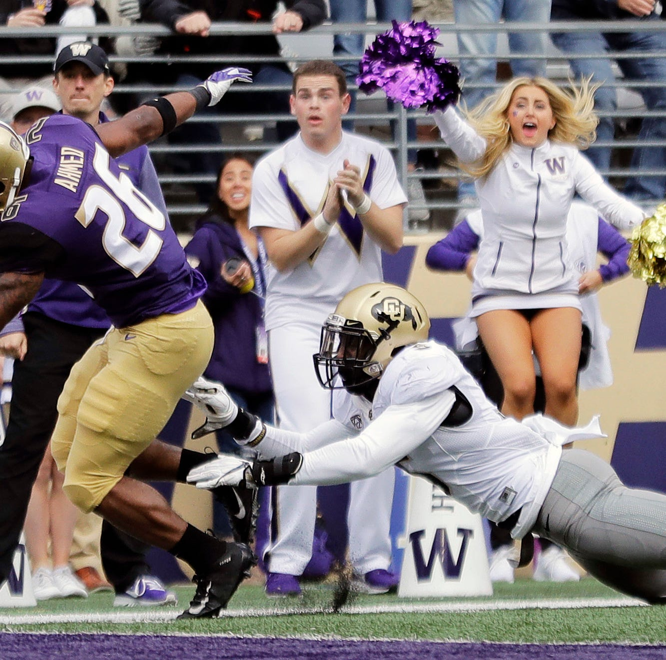 Washington showing its backfield depth with Gaskin sidelined
