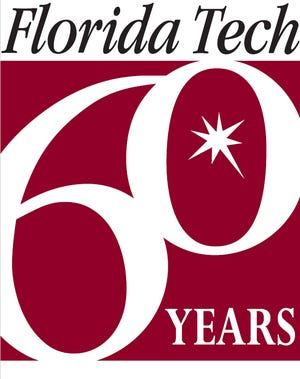 The Florida Institute of Technology 60th anniversary logo.
