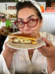 Chef Kathy Fridl, formerly of New York and Charleston, gave high marks to the tuna melt at Grecian Garden Cafe in Melbourne.