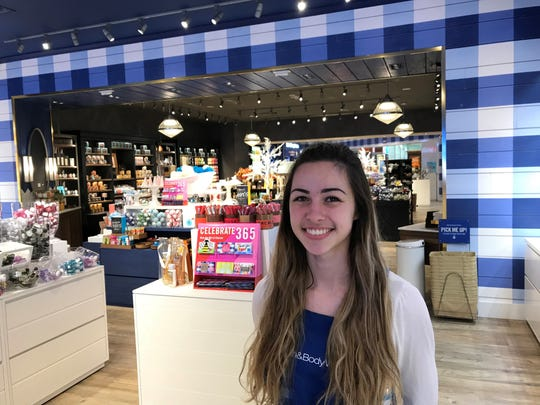 Katie McCoy at Bath and Body Works expects Target to greatly increase the number of shoppers at University Mall.