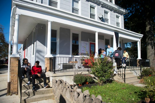 The LUCY Outreach home Thursday, Oct. 18, 2018 in Camden, N.J.