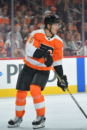 Robert Hägg has showed enough to get a try on the top defense pair with Ivan Provorov.