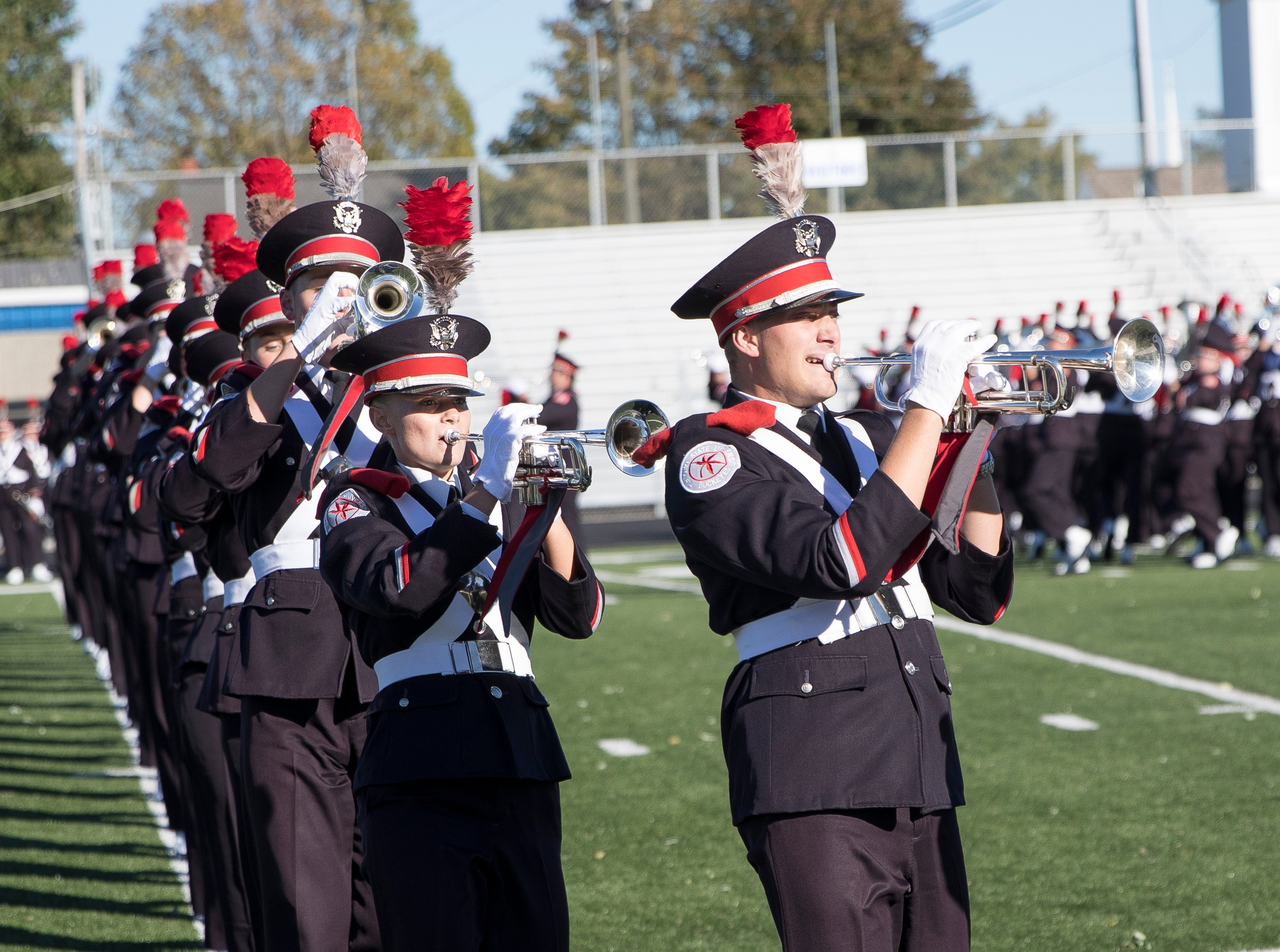 THE Ohio State University Band, also known as The Best Damn Band in the Land, performed to a packed crowd at Chillicothe's Herrnstein Field on Sunday, October 21, 2018. The event was hosted by Adena Mansion and Gardens and all proceeds from the event will go towards their educational programming.
