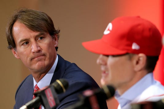 David Bell Named Cincinnati Reds Manager Oct 22