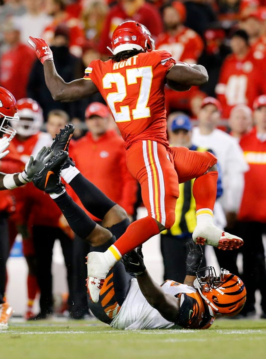 Cincinnati Bengals At Kansas City Chiefs