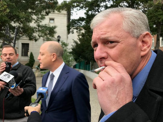 Former Major League Baseball player Lenny Dykstra returned to Union County Superior Court in Elizabeth on Monday for his arraignment.