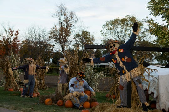 You'll encounter creepy scenes like this one at Greenfield Village this weekend.