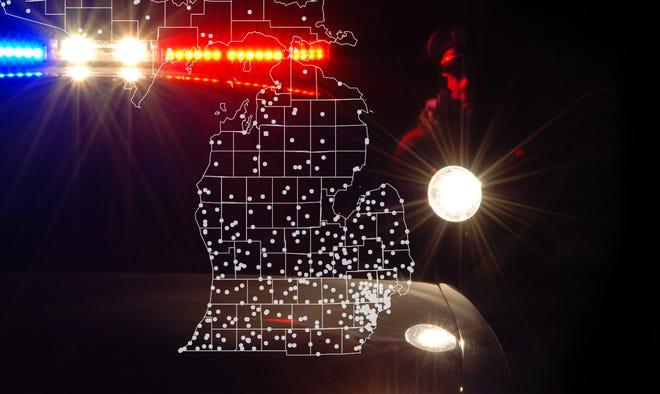 Reserve cops in Michigan