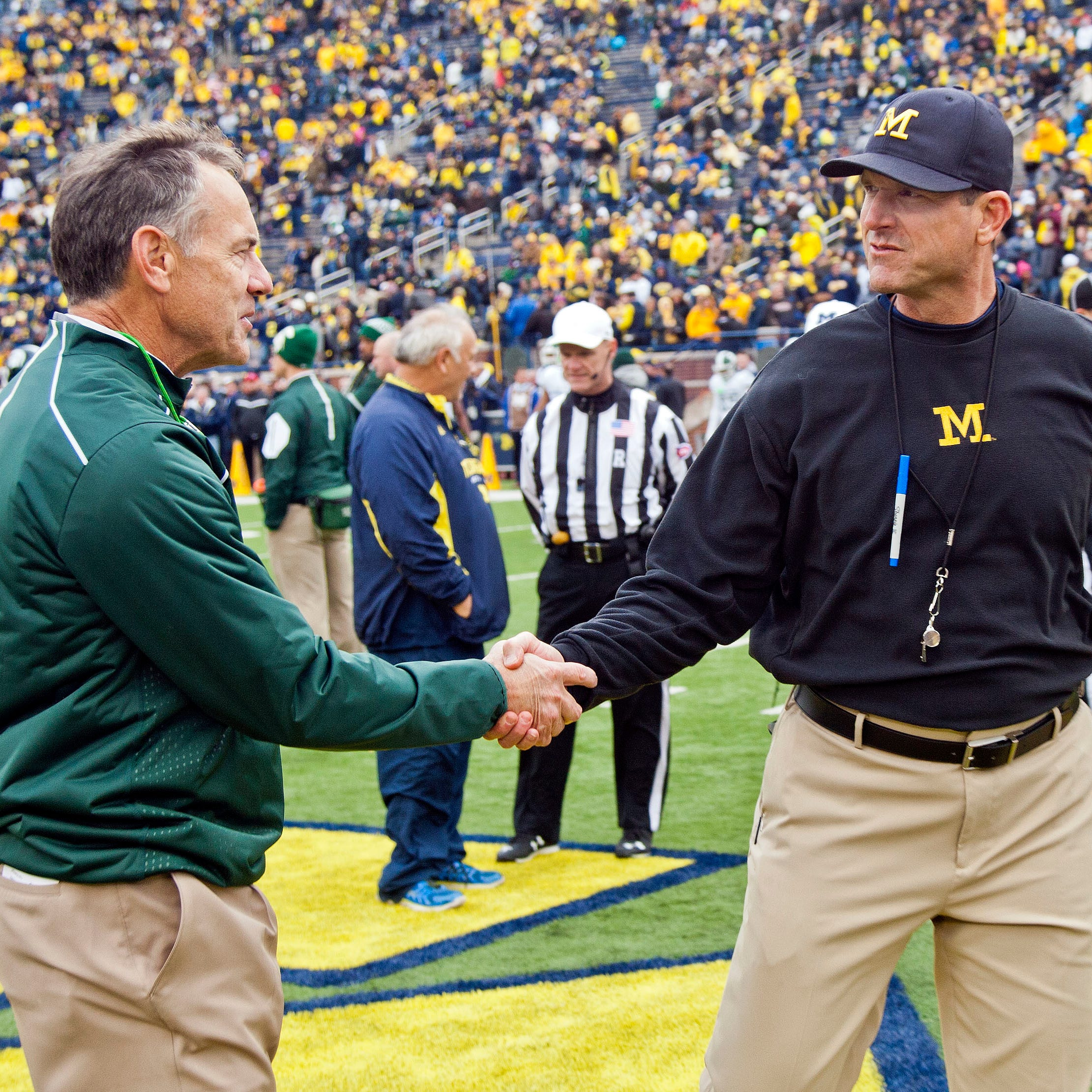 DraftKings: Projecting Michigan football, Michigan State win totals in 2019