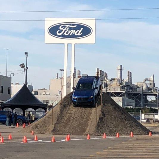 2019 Ford Ranger at Wayne plant