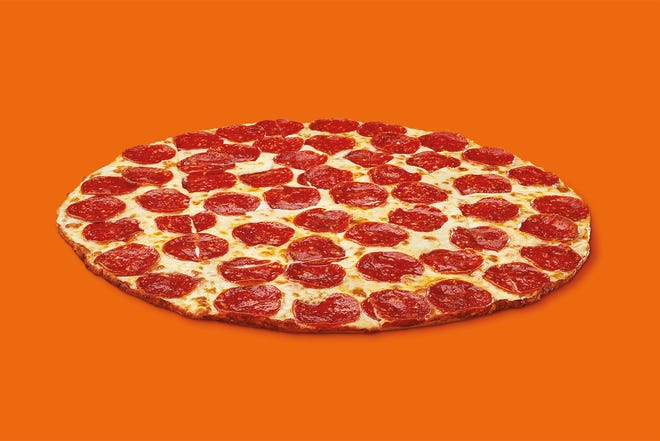 New thin crust pizza from Little Caesars
